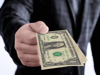 dolar dinero negro