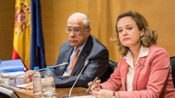 El secretario general de la OCDE, Ángel Gurría